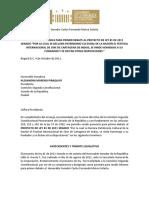 Primer Debate Pl 81-11 Festival Cartagena de Indias