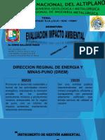 EXPOSICION DE E.I.A.