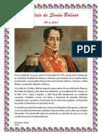 Natalicio de Simón Bolíva1