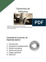 Lecture 10. Engranajes Pt1