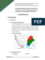 Resumen Ejecutivo Santa Rosa
