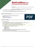 RedFlagDeals.com Message Centre API