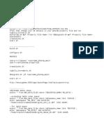 Commands to Set-up App