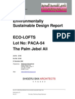Environmentally Sustainable Design Report