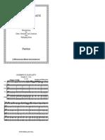 Partitur Sonate a-Dur K.208
