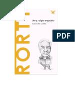 Del Castillo Ramon - Descubrir La Filosofia 38 - Rorty Y El Giro Pragmatico.doc