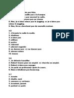 Fr Grammar Answers