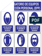 Afiche Seguridad EPP