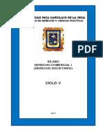 05 Derecho Comercial I Derecho Societario