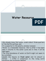 Lec 3 Water Resources