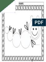 Fichas de Grafomotricidad 3 Años Para Imprimir I