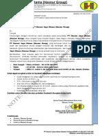 Undangan Recruitment Hasnur Group Jakarta