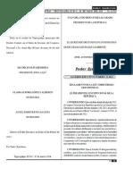 Reglamento Ley Firmas Electrónicas de honduras