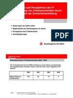3Eft FWb IT Qualifizierung Bundesagentur