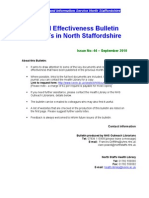 Clinical Effectiveness Bulletin 44, September 2010