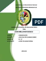 Juan Bosco Monografia
