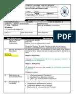 Pla de Clases de Laboratorio Bachillerate En Computacion Honduras