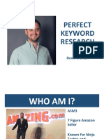 Devin Dorosh - Perfect Keyword Research
