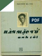 Hàn-Mặc-Tử Anh Tôi - Thiện Nam Nguyễn Bá Tin