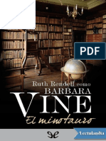 El Minotauro - Barbara Vine