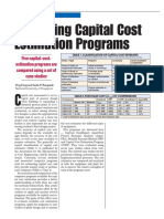 Estimating Programs