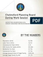 Chelmsford Planning Board Zoning Work Session