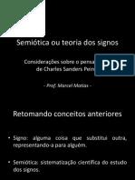 Semiotica Ou Teoria Dos Signos