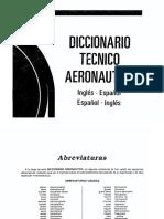 Diccionario Técnico Aeronáutico (Inglés-Español) (Español-Inglés)