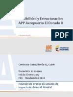 4852 Avance Factibilidad Proyecto Aeropuerto El Dorado II