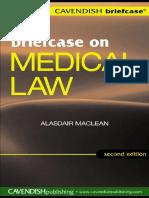 [Alasdai Maclean] Briefcase on Medical Law 2 e (Br(B-ok.xyz)