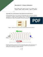 Clase Nº 13 Sensor Ultrásonico