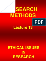 Research Methods - STA630 Power Point Slides  lecture 13.ppt