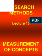 Research Methods - STA630 Power Point Slides  lecture 15.ppt