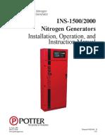 Manual for Nitrogen Generator