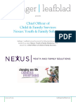 Nexus- Chief Officer of Child and Family Services