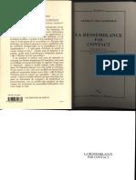 DIDI-HUBERMAN, G. La Ressemblance Par Contact