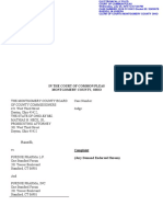 2018 CV 3413 Manufacturer Complaint