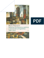 Historia Economica Politica y Social Rappoport Tapa