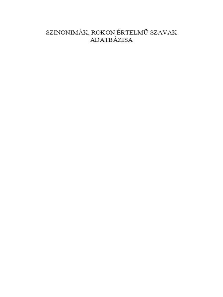 Szinonimak rokon értelmü szavak.pdf 963a2c2847