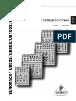 Behringer (Eurorack UB1202) - User's Manual