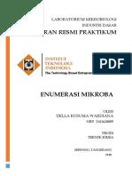 Enumerasi Acetobacter Xylinum