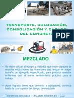 10.0 Transporte, Colocación, Consolidación y Curado 2018