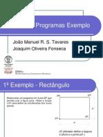 Programas Exemplo Em AutoLisp
