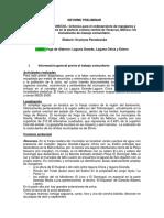 Informe Pesquero de La Torre Veracruz