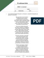 8Basico - Evaluacion N5 Lenguaje - Clase 3 Semana 25 - 2S