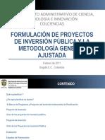 Presentacionproyectos de Inversión y mga.pdf