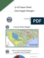 Corpus Christi — Raw Water Supply Strategies