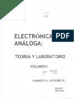 [H. H. Gutierrez Ramirez] Electronica Analoga Teor(B-ok.xyz)