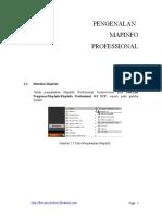 Modul Mapinfo Profesional New