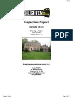 Enlighten Home Inspections LLC-Sample Website Report